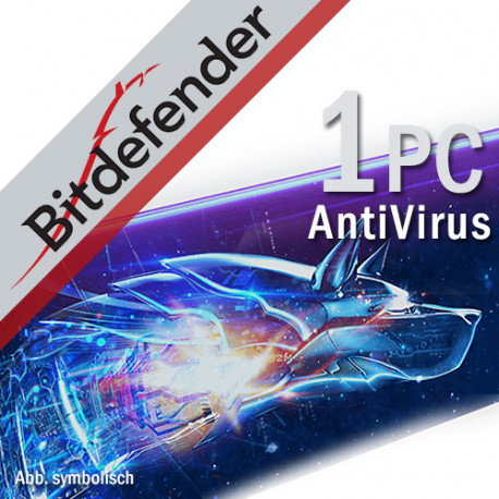 BitDefender Antivirus Plus 2018 1 PC
