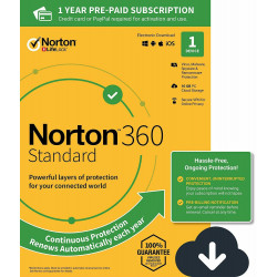 NORTON 360 STANDARD 1 PC 1 ROK